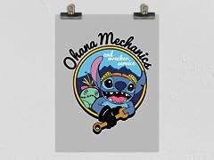 Ohana Mechanics Poster