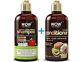 WOW Apple Cider Vinegar Shampoo & Conditioner
