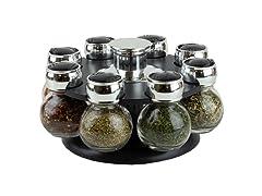 8PC Revolving Spice Rack