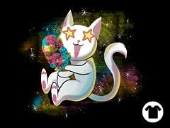 Galactic Rainbow Ice Cream Cat