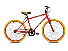 "Takara Blacktop 24"" Fixie Bike Red"