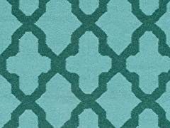 Teal Hand Woven Rug (6-Sizes)