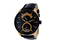 Charmex Zermatt Men's Black Dial Watch