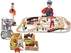 Melissa & Doug Railway or Pretend Play