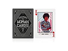 The Woman Cards Feminist Playing Cards