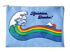 """""""Konichiwa!"""" Accessory Pouch"""