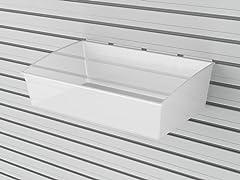Flow Wall Jumbo Hard Bins 2-Pack, Clear