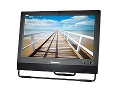 """Lenovo M72Z 20"""" Intel i5 250GB AIO Desktop"""