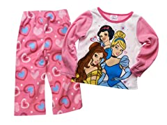 Princess 2-Piece Fleece Set (2T-3T)
