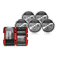 Deals on Craftsman Saw Blade & Drill Bit Set Bundle
