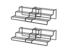 3-Tier Expandable Spice Rack, 2-Pack