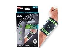 Wrist Support Sleeve Brace 1 or 2Pk