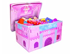 Princess Fairy Castle Toy Box