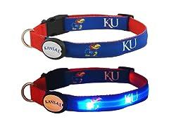 Kansas University LED Collar - Medium