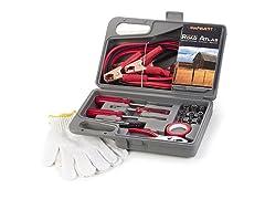 31-Piece Auto Emergency Kit w/ Map
