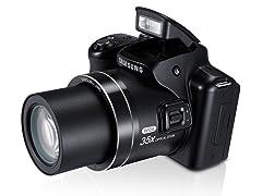 Samsung 16.3MP Digital Camera with 35x Optical Zoom