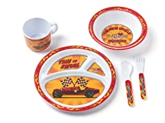 5-Piece Melamine Set - Garage