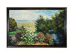 Monet - Corner of the Garden at Montgeron