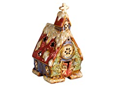 Red Church Decorative Fragrance Warmer
