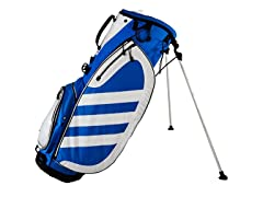 adidas Samba Golf Bag - Blue/White
