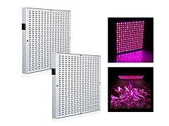 Multi-Spectrum LED Grow Light 2pk