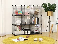 Metal Wire Cube Storage