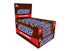 SNICKERS 100 Calories Bar, 24ct