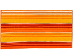 450GSM 36x70 Orange Stripe Towel