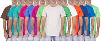 10-Pack Fruit of the Loom Men's Crew Neck T-Shirts