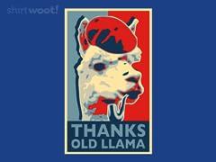 Thanks Old Llama