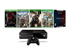 Microsoft Xbox One w/5 Games