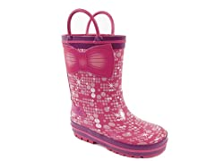 Barbie Rain Boot (7-12 Tod)