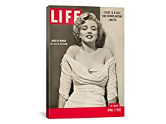 Marilyn Monroe Life Magazine Cover