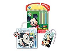 Mickey Mouse Travel Set