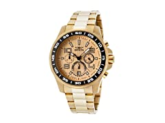Invicta Men's Specialty Chronograph, Gold
