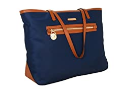 Michael Kors Kempton East/West Tote, Navy