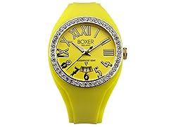Men's BOX 40Z YELLOW Yellow Dial Watch