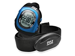 Bluetooth Fitness Heart Rate Watch - Blue