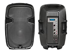 "12"" 1000W Powered Two-Way PA Speaker"