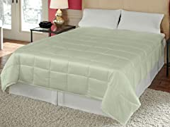 Silk Essence Comforter Lime - 2 Sizes