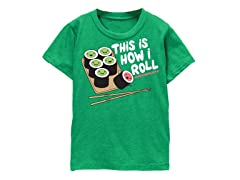 Boys Toddler Tee - How I Roll (2T-5/6T)