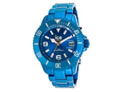 Blue Aluminum Watch