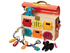 Battat Critter Clinic Toy Vet Play Set