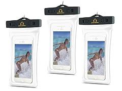 Gear Beast Waterproof Floating Dry Bag - 3 pack