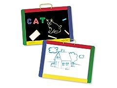 Magnetic Chalkboard/Dry Erase Board
