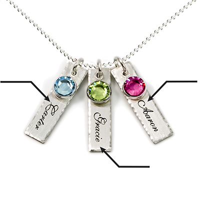 Amazon ajs collection unity in three personalized charm error message aloadofball Image collections