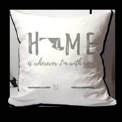 Amazon.com: Personalizado MARYLAND Home Is Wherever I m ...