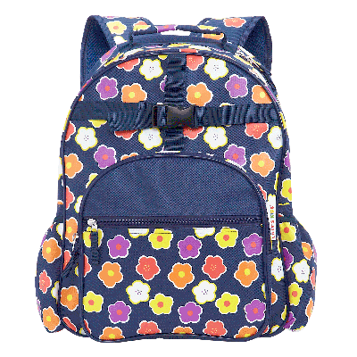 Superb Amazon Com Navy Floral Personalized Backpack By Lillian Caraccident5 Cool Chair Designs And Ideas Caraccident5Info