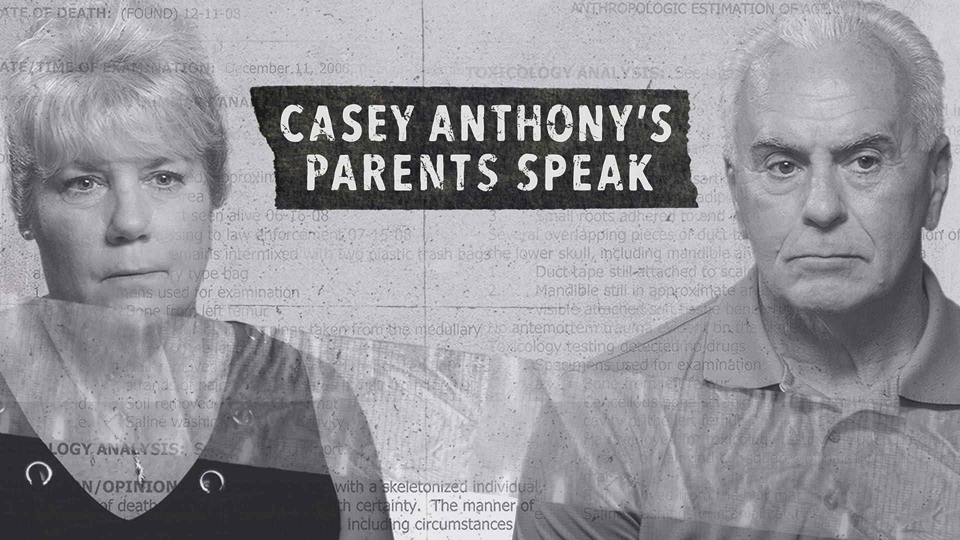 Casey Anthony's Parents Speak HD