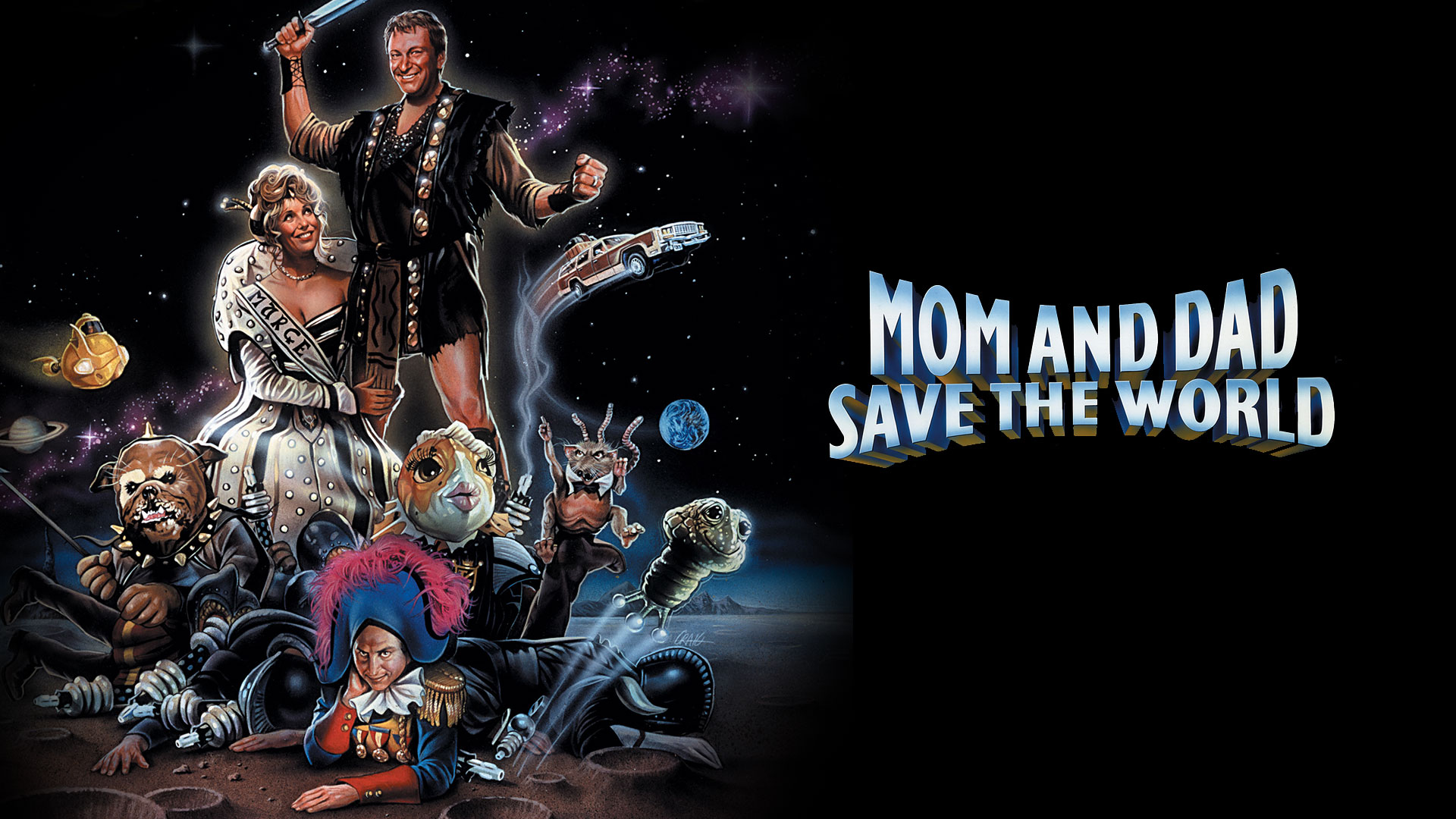 Mom and Dad Save the World